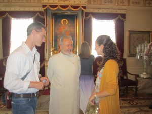 Meeting with the Armenian Patriarch